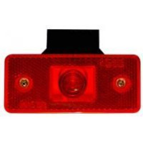 Poziční světlo MD 13 LED červené
