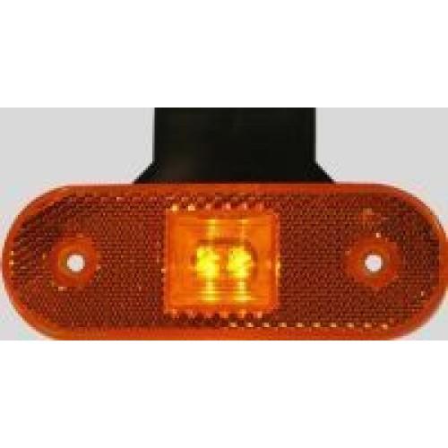 Poziční světlo W47 LED - oranžové