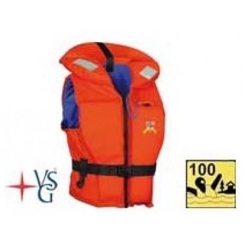 Záchranná vesta 100N 60 - 70 kg