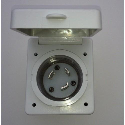 Zásuvka elektrického přívodu 220/110V 30A